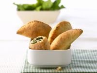 Feta Cheese and Spinach Empanadas recipe