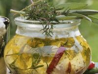 Feta Cheese with Herbs and Peppers recipe