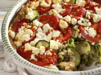 Feta, Courgette and Buckwheat Bake recipe