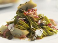 Savoury Pasta with Artichoke Hearts recipe