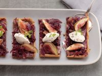 Fig and Onion Tart recipe