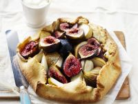 Fig and Pear Tart recipe