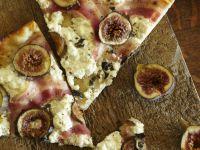 Fig Pancetta Pesto Pizza recipe