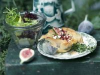 Fig Pie with Goat Cheese and Lemon Thyme recipe