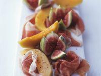 Figs and Melon with Prosciutto recipe