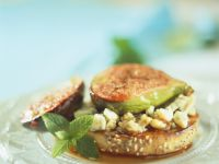 Figs with Balsamic and Stilton recipe