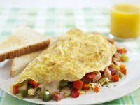 Filled Breakfast Egg Dish recipe