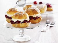 Filled Choux Buns recipe
