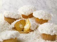 Filled Coconut Cakes recipe