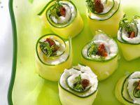 Filled Cucumber Wraps recipe