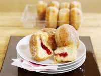 Filled Donuts with Currant Jelly recipe