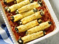 Filled Pasta Tube Bake recipe