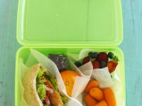 Filled Pittas for Lunchbox recipe