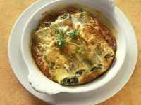 Filled Vegetarian Pasta Tubes recipe