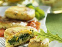 Filled Veggie Patties recipe
