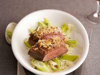 Fillet of Duck with Leeks and Nutmeg recipe