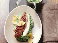Fillet of Rabbit with Herb Risotto recipe