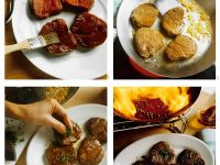 Fillet Steak with Peppercorn Sauce