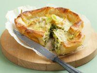 Filo Dough and Feta Pie