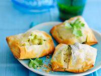 Filo Fish Bakes recipe