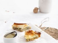 Filo Pastry Pie with Sweet Potatoes and Feta recipe