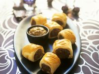 Filo Pastry Sausage Rolls recipe