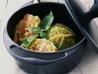 Fish and Cabbage Boules recipe