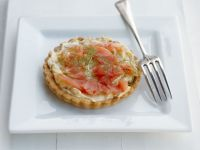 Fish and Cream Cheese Tarts recipe