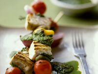 Fish and Veg Skewers recipe