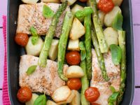 Fish and Vegetable Bake recipe