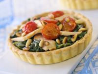 Fish and Vegetable Tartlets recipe