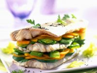 Fish and Veggie Stack recipe