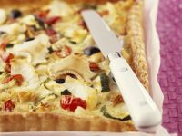 Fish and Veggie Tart recipe