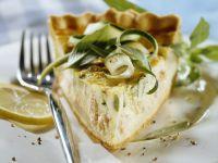 Fish and Zucchini Quiche recipe