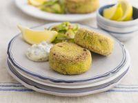 Fish Cakes with Tartar Sauce recipe