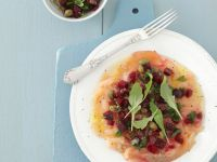 Fish Ceviche with Beets recipe