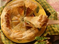 Fish-Filled Puff Pastry recipe