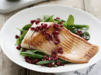 Fish Fillet with Pomegranate recipe