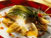 Fish Fillets with Endive and Avocado recipe