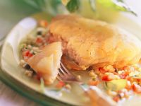 Fish Fillets with Potato Topping recipe