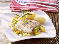 Fish Fillets with Vegetables recipe