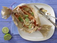 Fish Packets with Lime