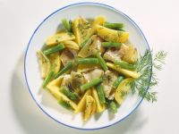 Fish Pan with Green Beans and Potatoes recipe