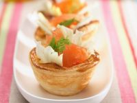 Fish Pastry Cups recipe