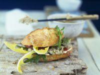 Fish Pate Sandwich recipe