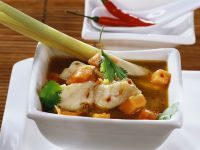 Fish Soup with Papaya and Lemongrass recipe