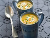 Fish Soup with Smoked Halibut recipe