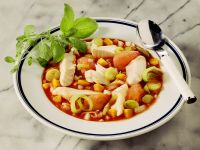 Fish Stew with Carrot, Leek and Tomato recipe