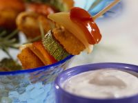 Fish Stick and Vegetable Skewers recipe