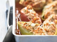 Fish-stuffed Shells recipe